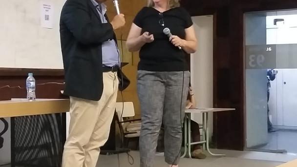 UERJ hosted speaker Maria Fidalgo from the University of New Mexico
