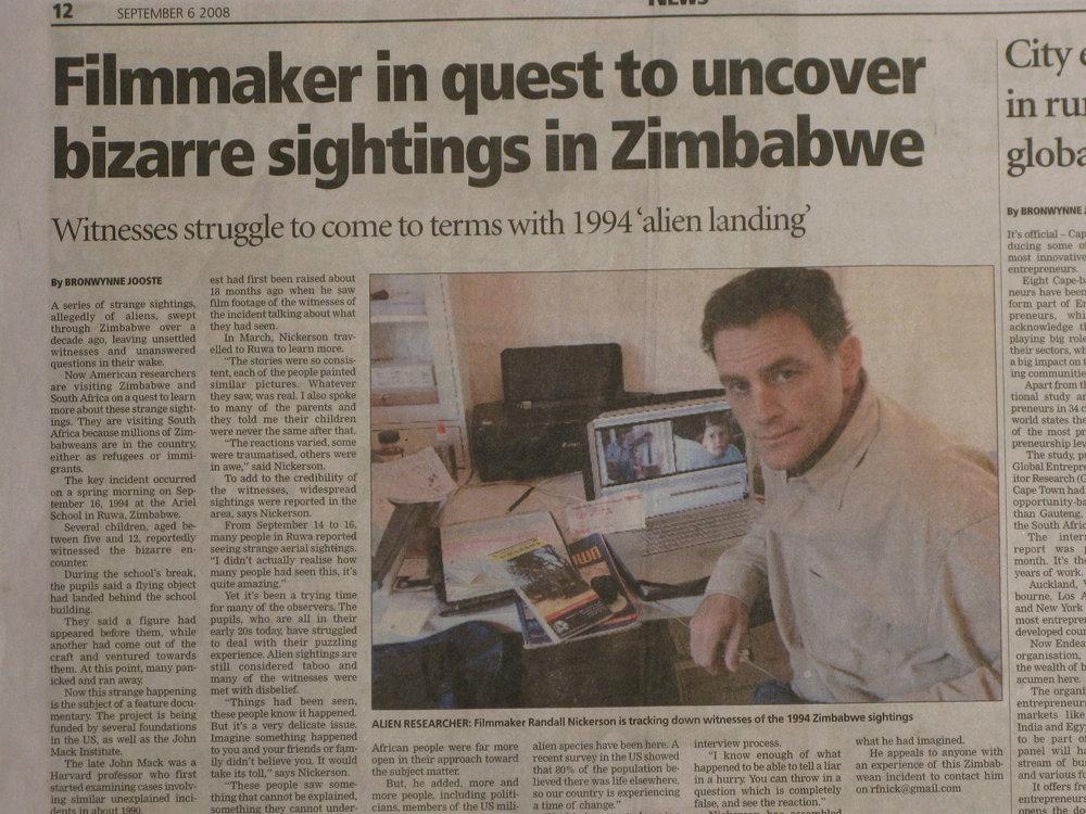 Research in Africa