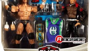 Figure Review - Jeff Hardy Triple H Ringside Exclusive 2 pack. - Connor Willis
