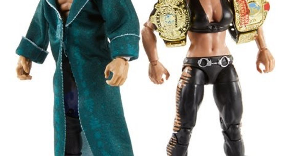 *PRE ORDER* WWE Triple H and Chyna Elite Collection 2-Pack