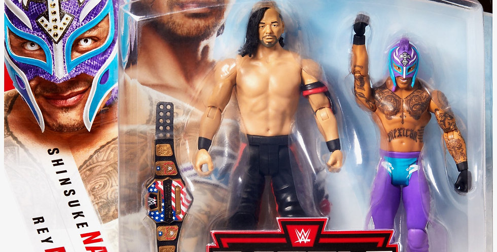 Nakamura & Rey Mysterio - Battle Pack Series #62