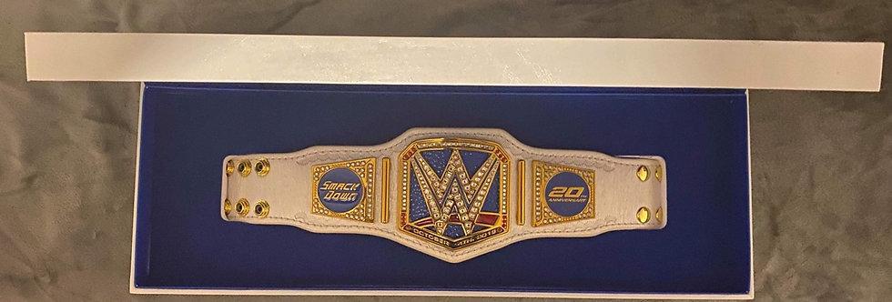 WWE Smackdown 20th Anniversary Mini Replica Belt