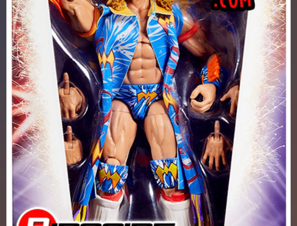 WWE Elite Ringside Exclusive WRESTLEMANIA 12 Ultimate Warrior