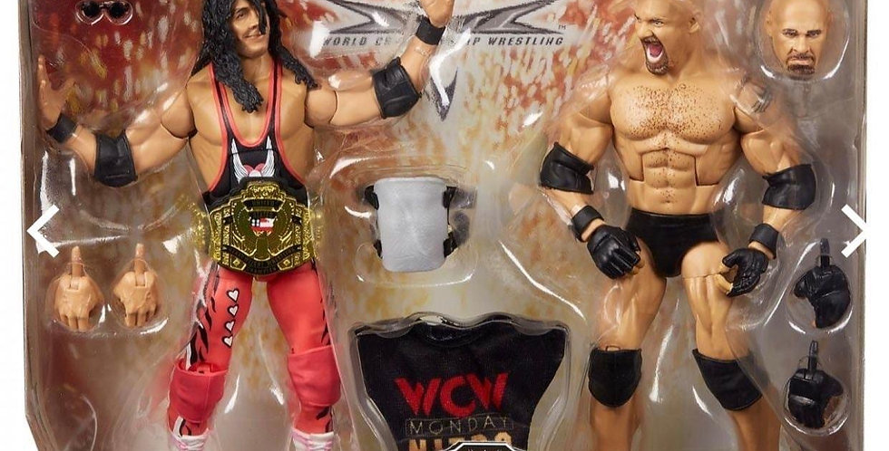*PRE ORDER* BRET HART & GOLDBERG WWE ELITE 2 PACK.
