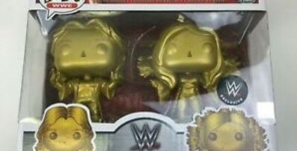 WWE Ric and Charlotte Flair Gold WWE Exclusive Pop! Vinyl 2-Pk