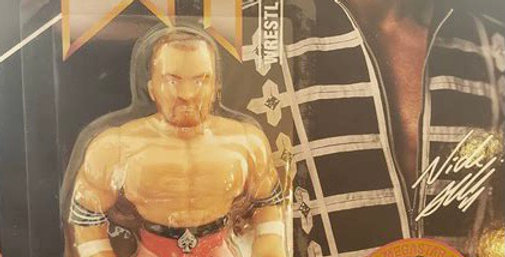 Nick Aldis Retro Style Action Figure By Chella Toys
