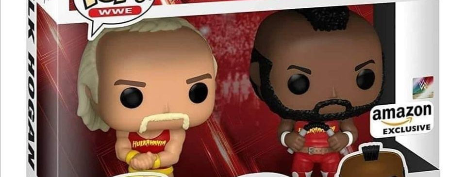 *PRE ORDER #1* MR T & Hulk Hogan Double Pack Funko Pop!