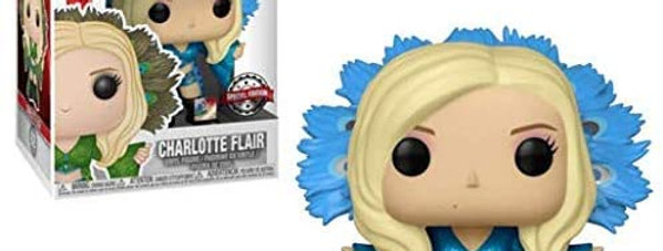 Charlotte Flair Blue Robe Funko Pop! USA Exclusive