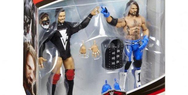 AJ Styles & Finn Balor Elite Collection 2 Pack