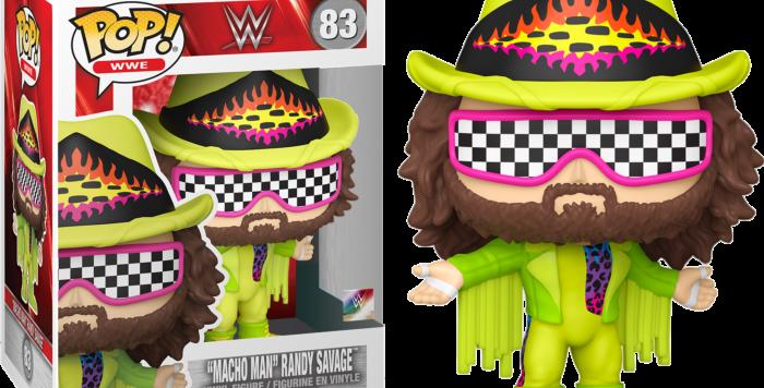 Macho Man Randy Savage (Green) WWE Funko Pop!