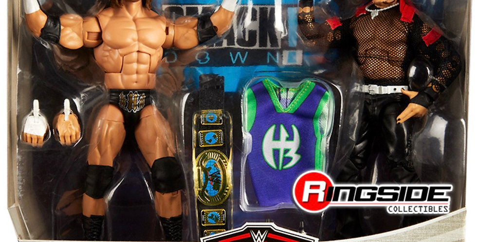 Triple H & Jeff Hardy WWE Elite 2 pack