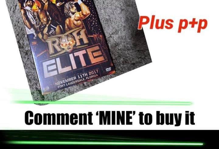 Ring Of Honor DVD (Region Free)