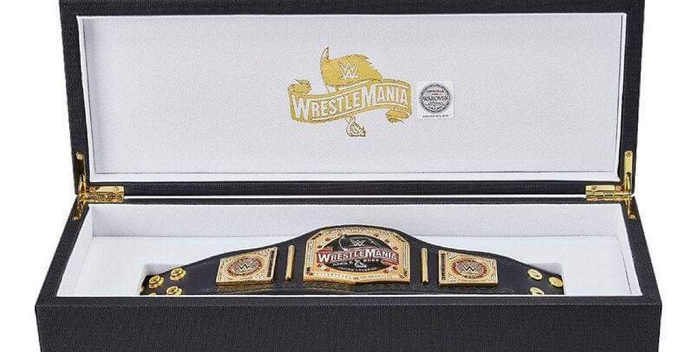 WrestleMania 36 Chair, Mini Belt & Sideplates