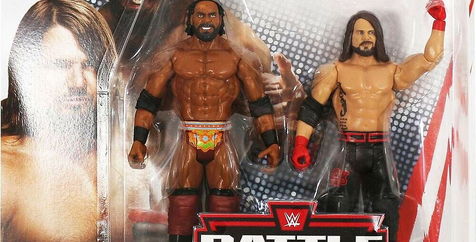 AJ Styles and Jinder Mahal Battle Pack 59