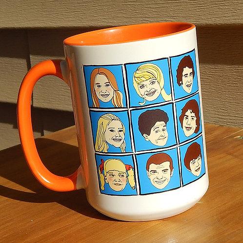 Brady Bunch 16oz Ceramic Mug