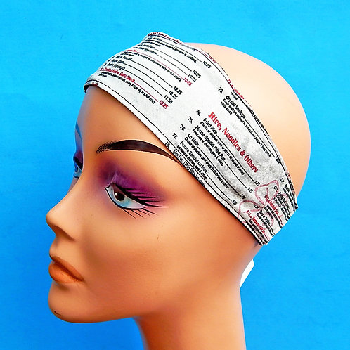 Chinese Takeout Headband