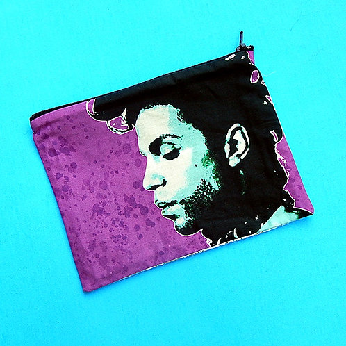 Purple Rain Zipper Pouch