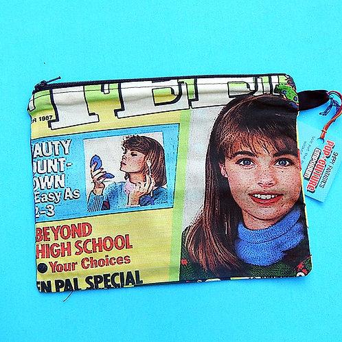 Teen Magazine Zipper Pouch