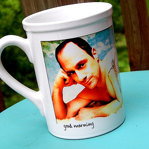 Good Morning Meloni 16oz Ceramic Mug