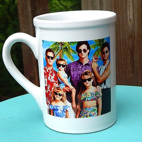 Full-House 16oz Ceramic Mug