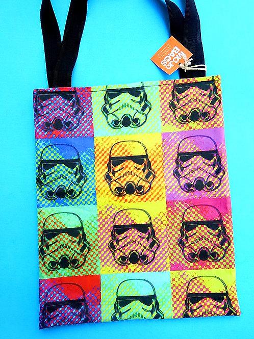 Stormtrooper Pop-Art Tote Bag