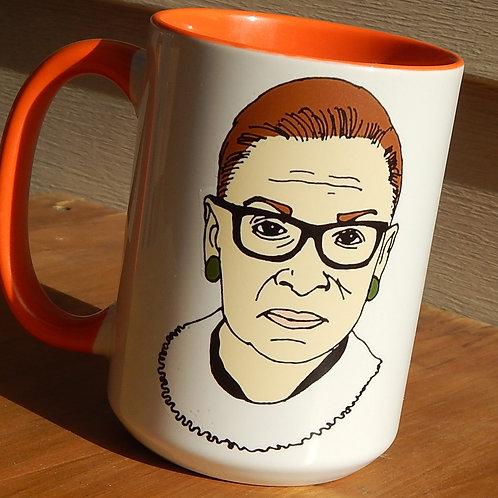 Ruth Bader Ginsburg 16oz Ceramic Mug