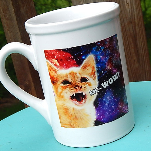 Me-Wow 16oz Ceramic Mug