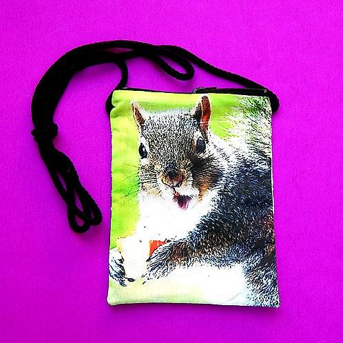 Squirrel Cell Phone Purse