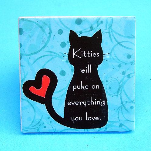 Kitties Gonna Puke