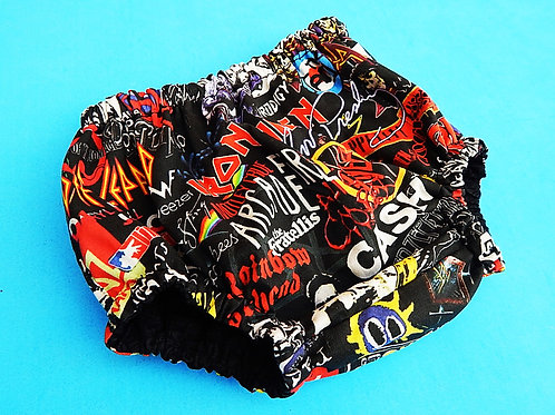 We Will Rock You Diaper Cover