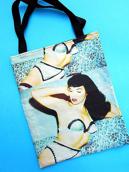 Betty Blue Tote Bag
