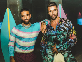 Maluma y Ricky Martin estrenan videoclip de 'No se me quita'