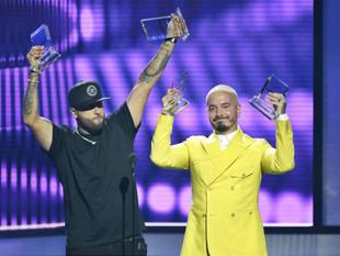 Nicky Jam y J Balvin ganan los primeros Premios Billboard
