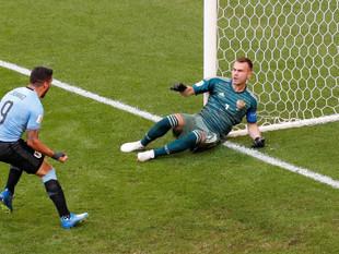 Edinson Cavani selló goleada de Uruguay ante Rusia con este gol por el Mundial 2018