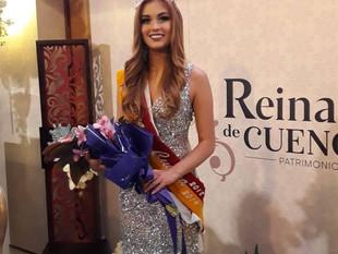 Cuenca eligió a Cristina Ortega como su nueva reina