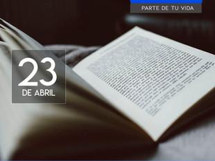 Día del libro, 23 de abril