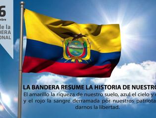 26 DE SEPTIEMBRE, DÍA DE LA BANDERA ECUATORIANA