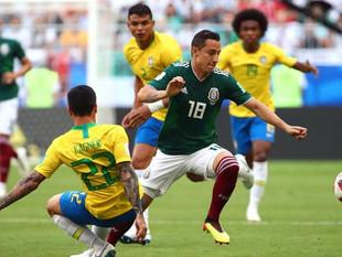 Brasil 2 - México 0