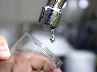 Corte de servicio de agua en la ciudad