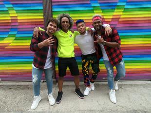 """La boys band panameña 4U presenta """"Bidi Bidi Boom Boom"""" y estarán muy pronto en Ecuador"""