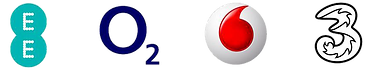 UK Network Operator Logos
