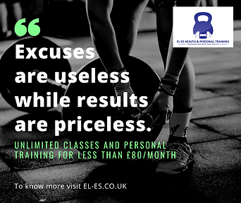Excuses are useless while results are pr