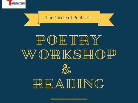 First Poetry Workshop & Reading Carded for 23rd