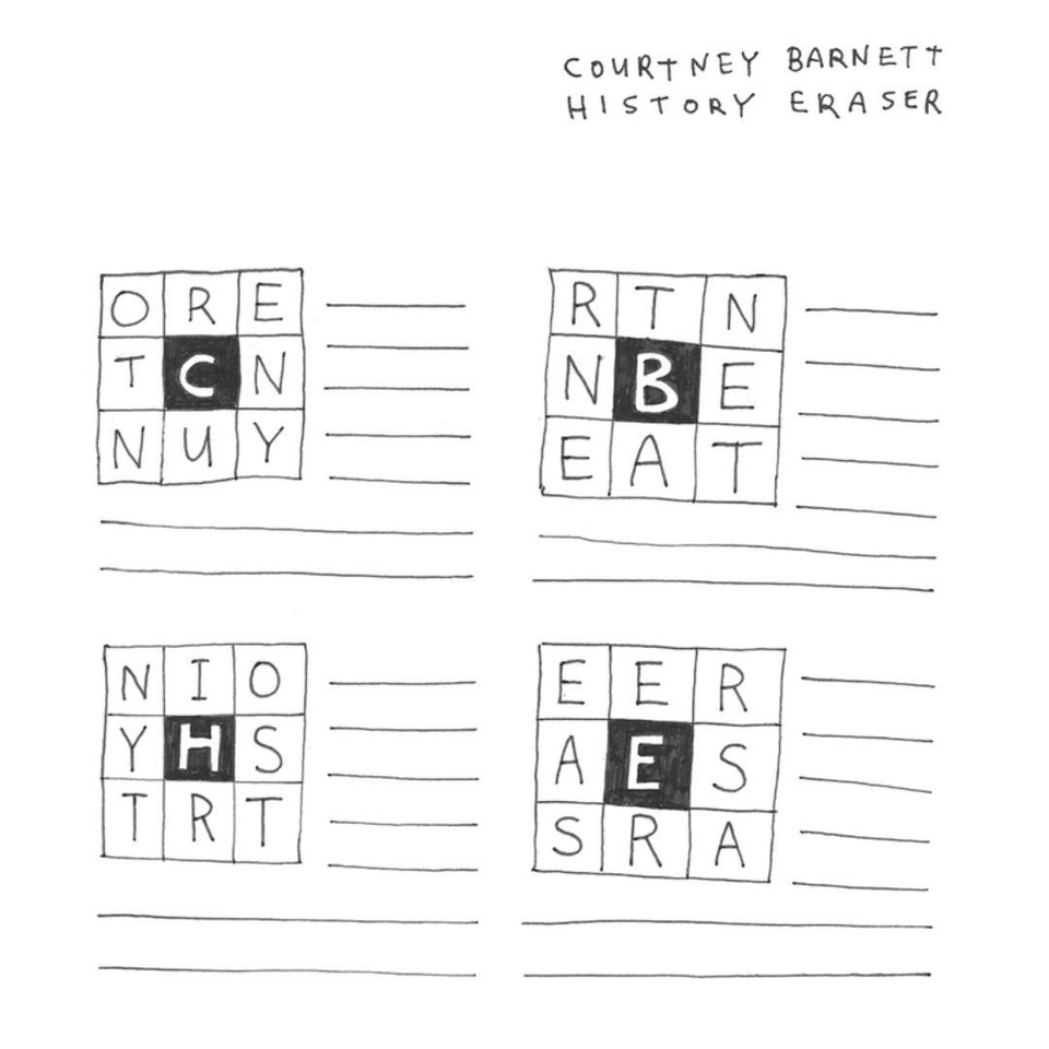 courtney barnett HISTORY ERASER (2012)
