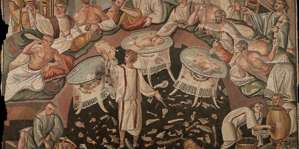 Tepidarium dinner