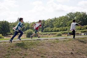 Enfants dans la parc