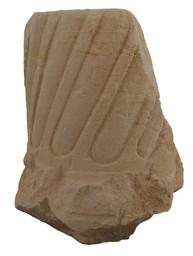 Colonne calcaire du sanctuaire