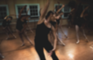AAPA Director Danelle Watson teaches a ballet class at the Old Kula Commuity Center