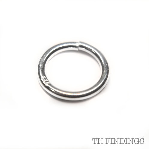 12mm Sterling Silver Jump Ring