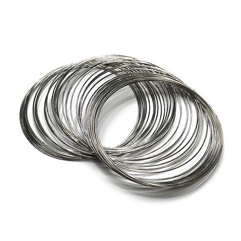 Bracelet Memory Wire 50 Pieces